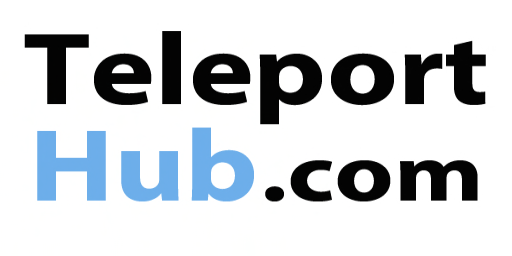 Teleport Hub Logo (rectangle)