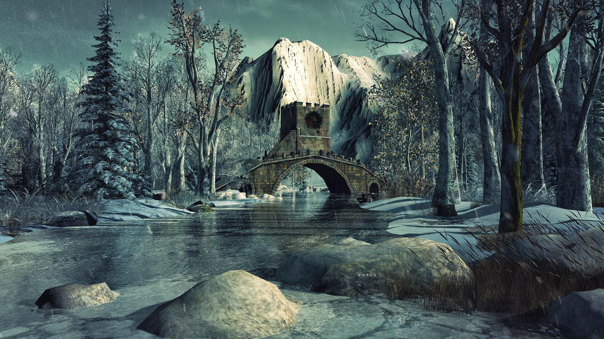 SL Travel: Winter Trace - Lonely Bridge